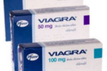 Viagra by Pfizer in 25mg, 50mg, and 100mg