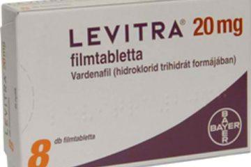 Levitra 20mg (Vardenafil)
