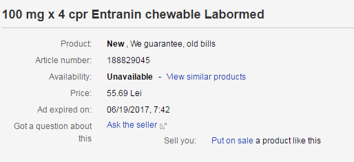 How to Buy Entranin Online