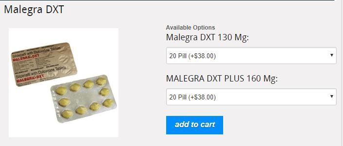Malegra DXT Price