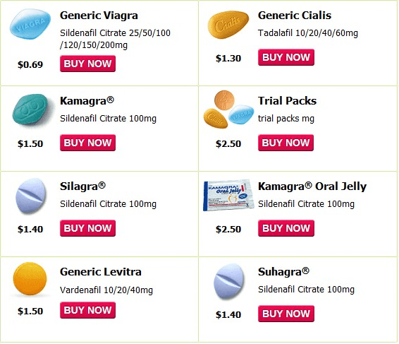 Generic Viagra, aka Sildenafil, Comes in Many Different Names